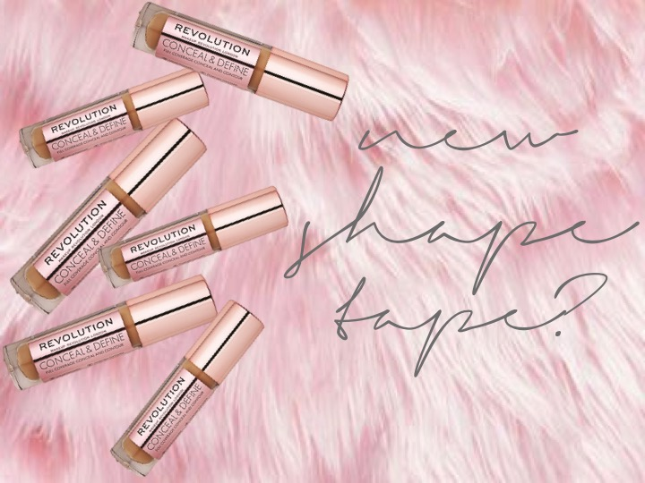 Makeup Revolution Conceal and Define +Swatches