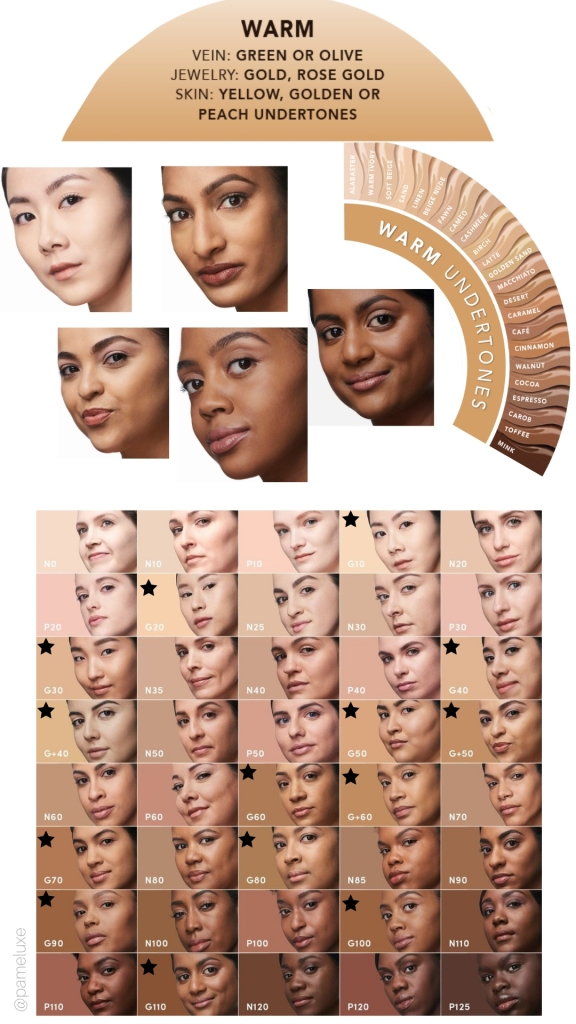 foundation for warm toned undertone