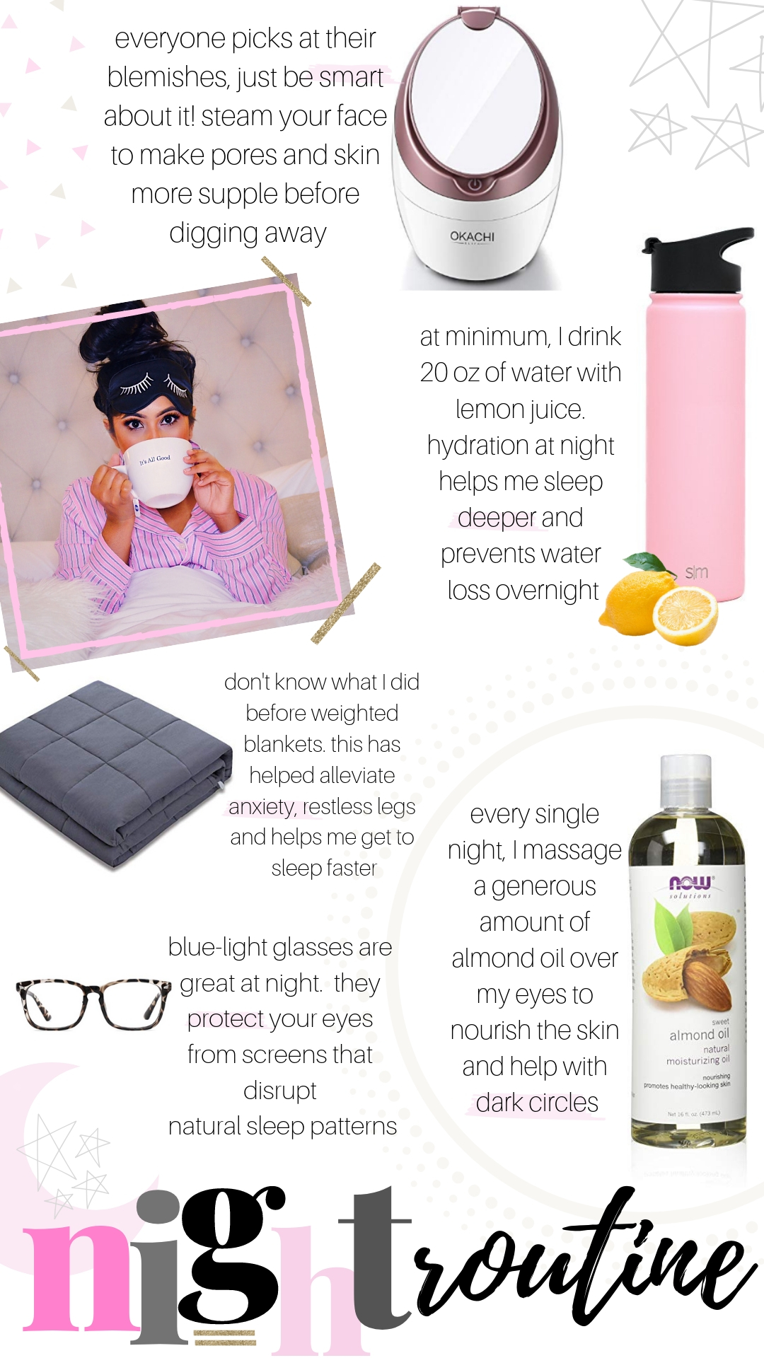 anti aging night time routine for best skin