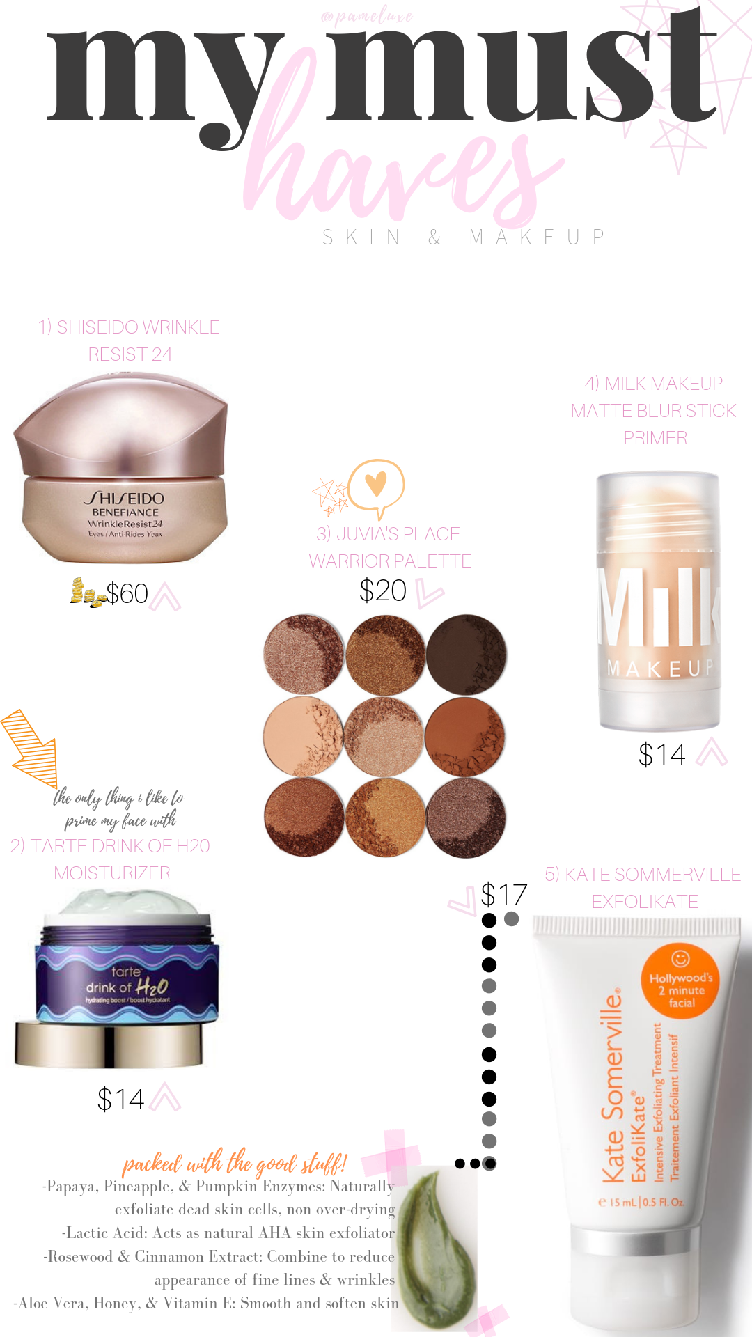 BEST SKINCARE PRODUCTS FOR PERFECT MAKEUP
