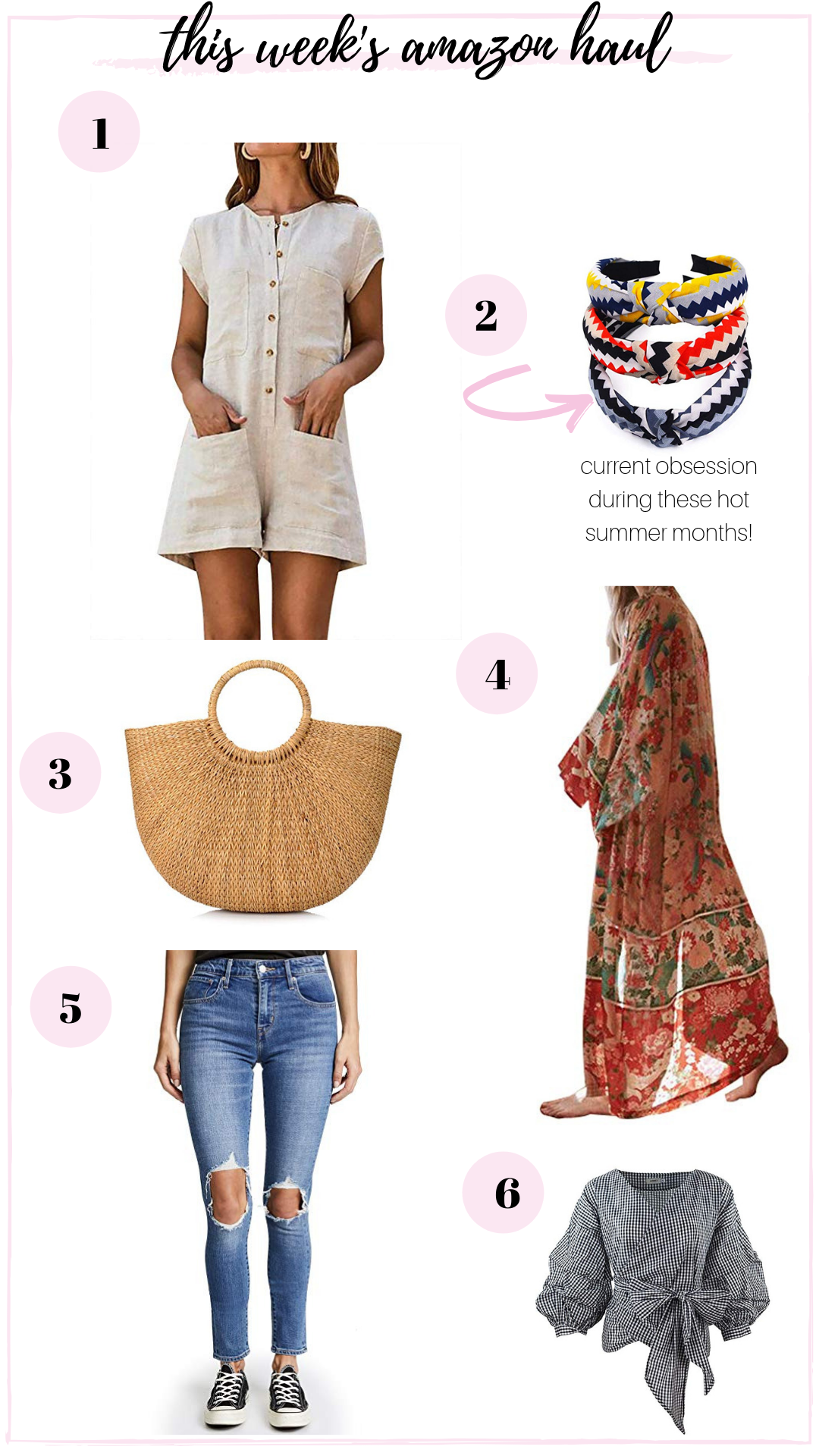 summer makeup and fashion must haves