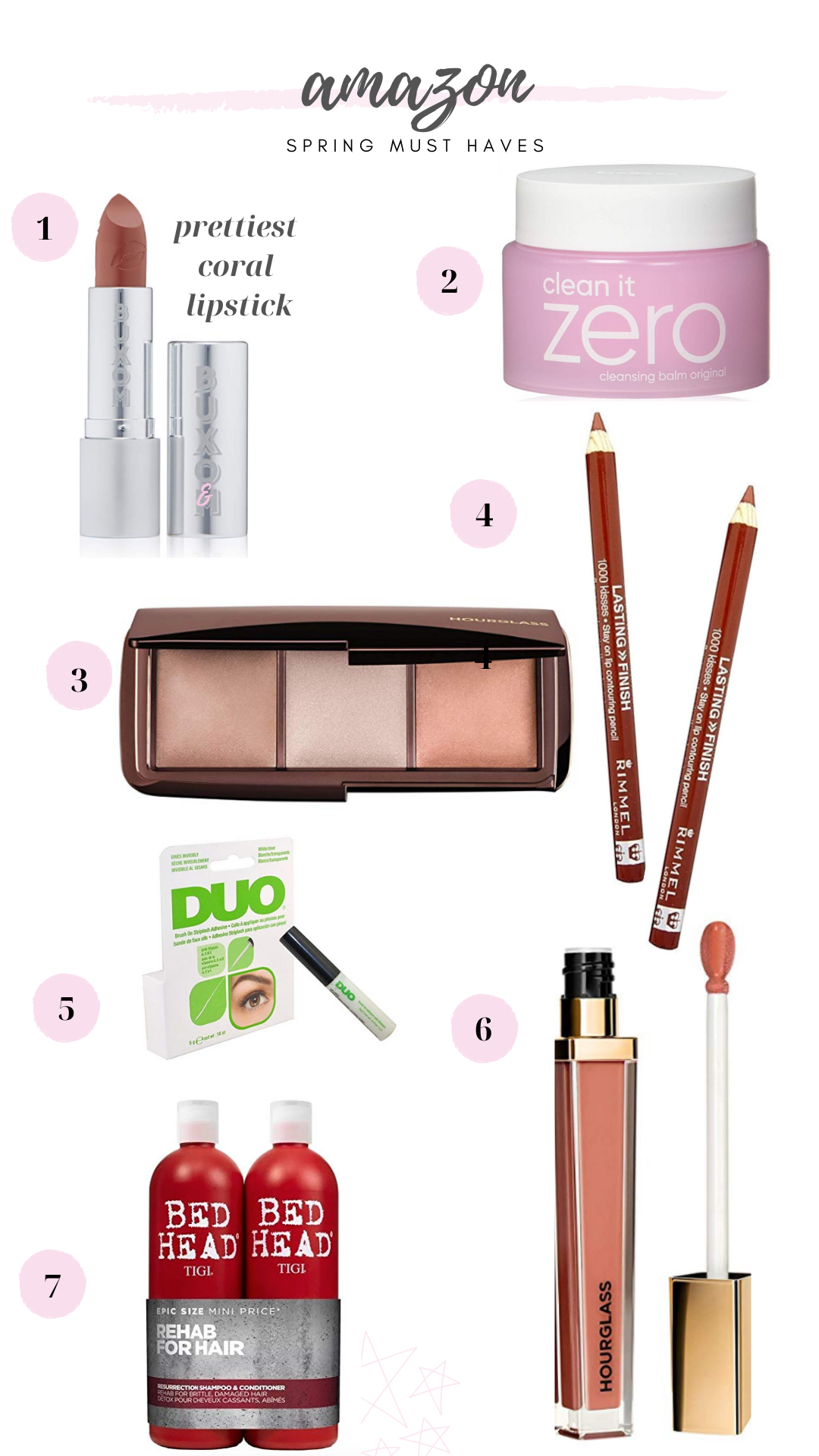 spring makeup affordable on amazon