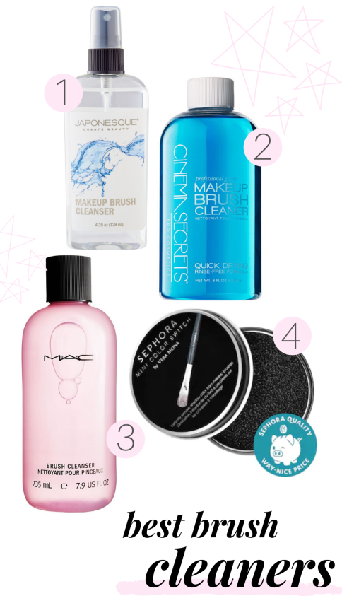 best brush cleaners to clean makeup brushes